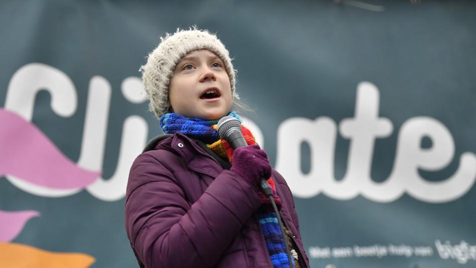 Greta Thunberg hace llamado a seguir la lucha contra el cambio climático en medio de pandemia