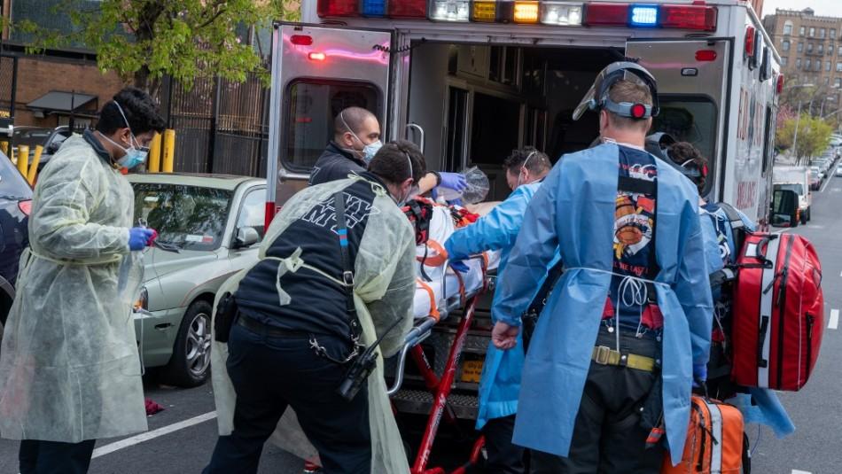 Estados Unidos registra más de 1.700 muertes por coronavirus en las últimas 24 horas