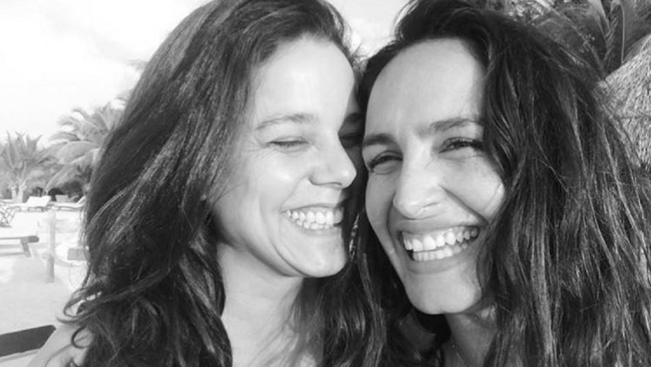 """Fernanda Urrejola presenta a su novia: """"Gracias porque juntas ..."""