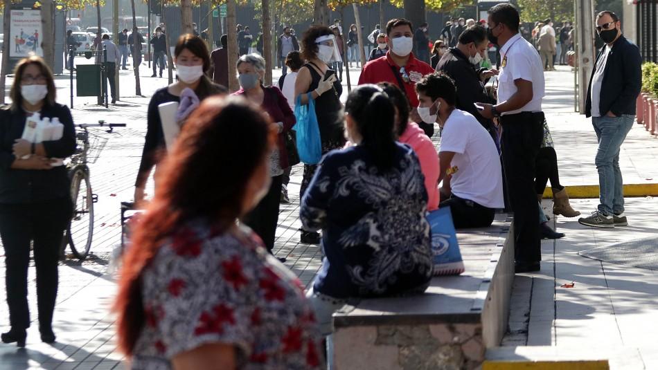 Uso de mascarilla ya es obligatorio en más de la mitad de las comunas de la Región Metropolitana