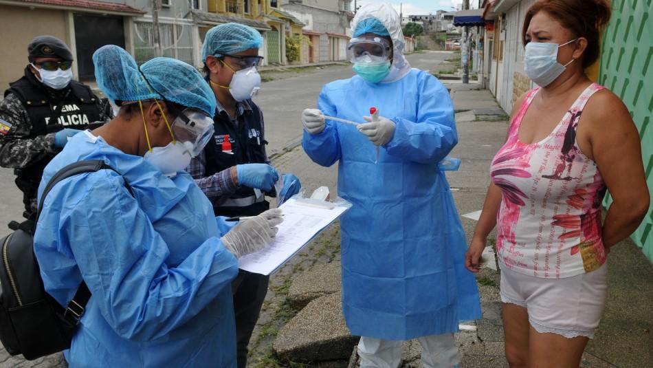 Casos de coronavirus en Ecuador se duplican y superan los 22 mil contagios