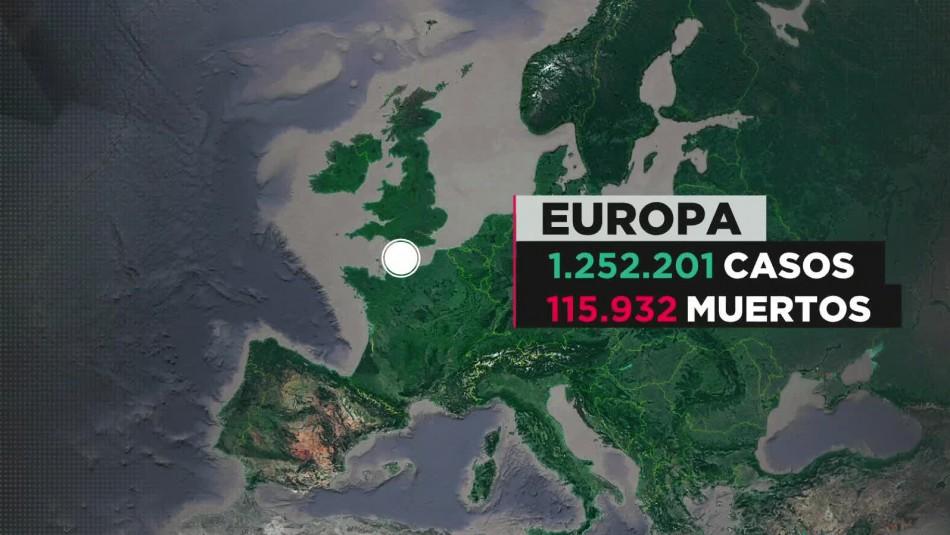 Coronavirus en Europa: La mitad de sus 110 mil muertos corresponden a hogares de ancianos