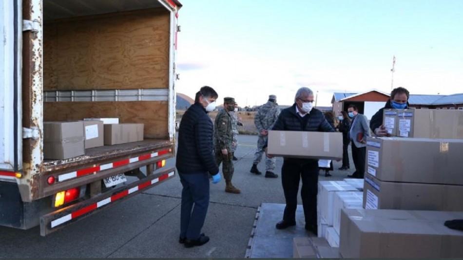 Ministro Mañalich llegó a Punta Arenas para entregar ventiladores mecánicos y exámenes de diagnóstico