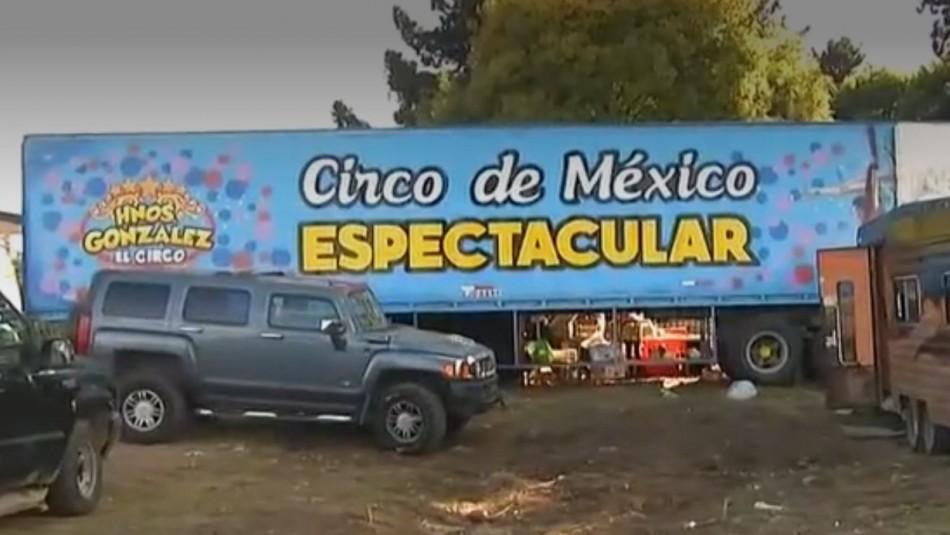 La historia de un circo mexicano varado en Temuco: Vende fruta y verdura por delivery
