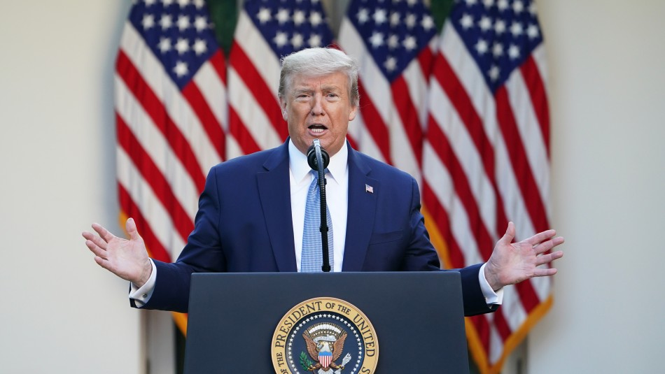 Coronavirus en Estados Unidos: Trump sugiere el uso de
