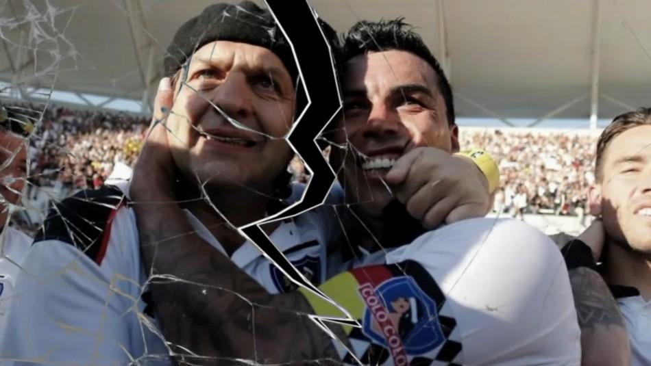 Mosa versus Paredes: El quiebre de una de las duplas más exitosas de Colo Colo