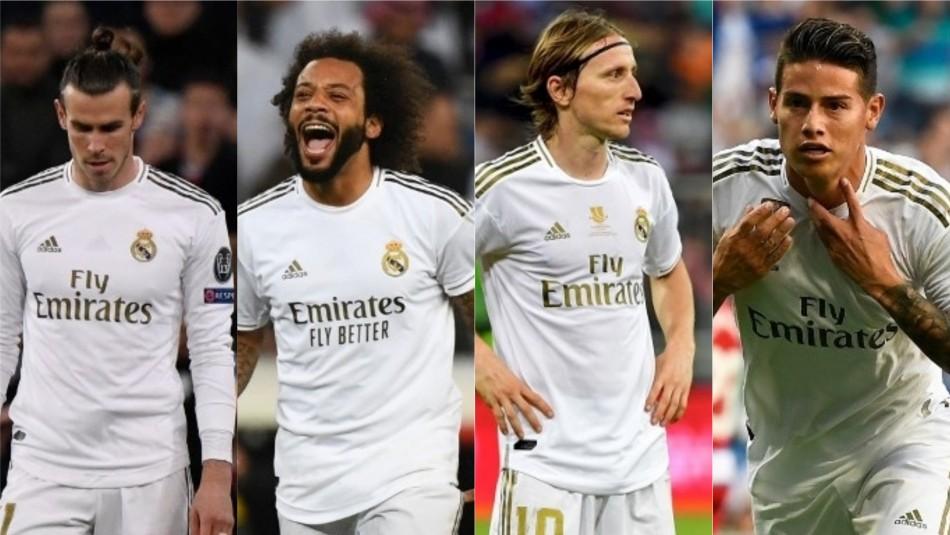 Real Madrid se renueva por completo: Tres históricos astros entre los 13 jugadores que dejan el club