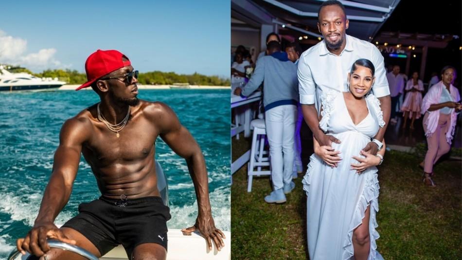 Usain Bolt vive en un barco.