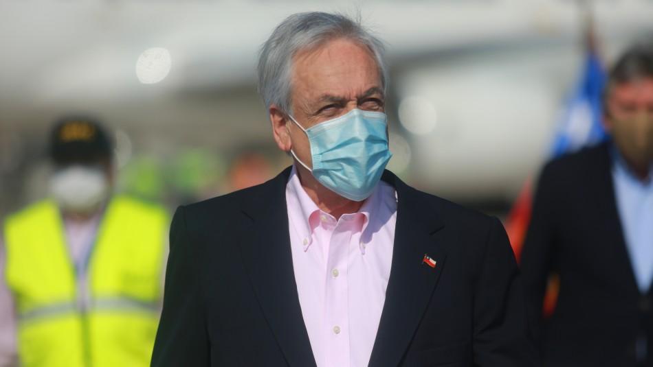 Piñera llama a la unidad en medio de la pandemia de coronavirus  y