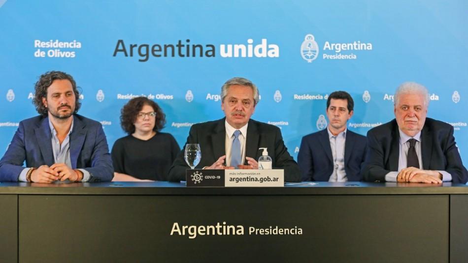 Argentina extiende aislamiento social obligatorio por el coronavirus hasta el 10 de mayo