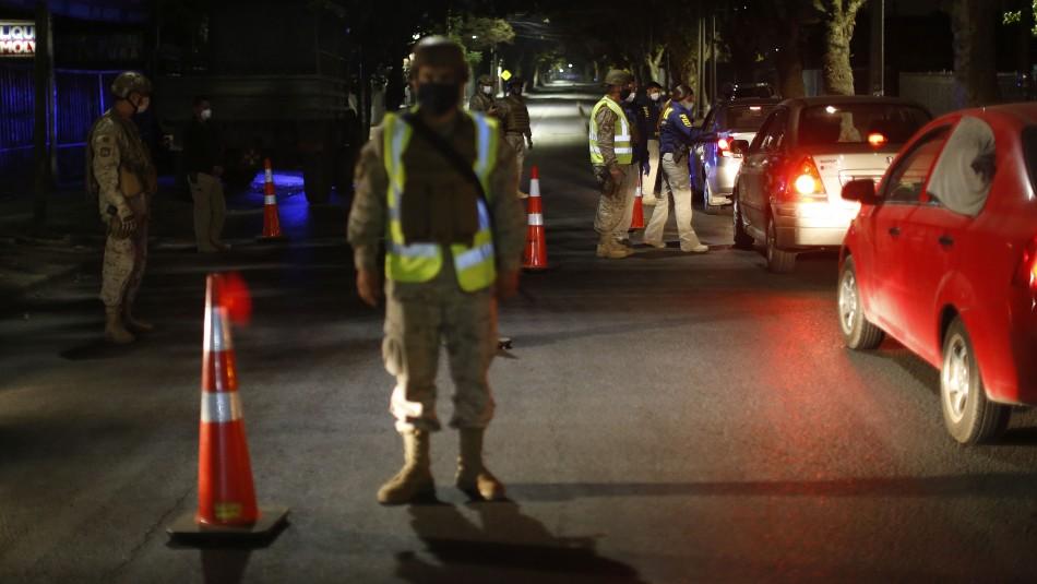Carabineros informó que se registraron 613 detenciones por no respetar el toque de queda