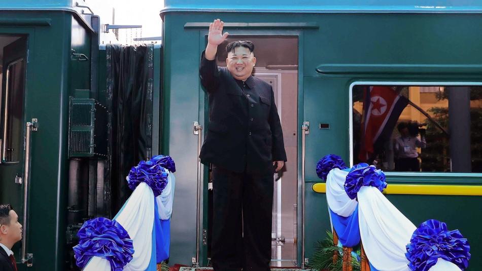 Prensa norcoreana asegura que Kim Jong-Un envió saludo a Sudáfrica este 27 de abril