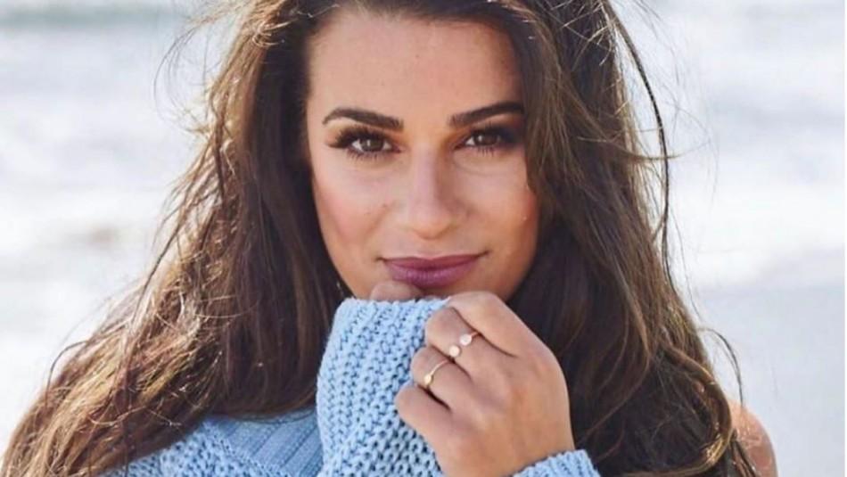 Protagonista de Glee embarazada: Lea Michele espera su primer hijo tras un año de matrimonio