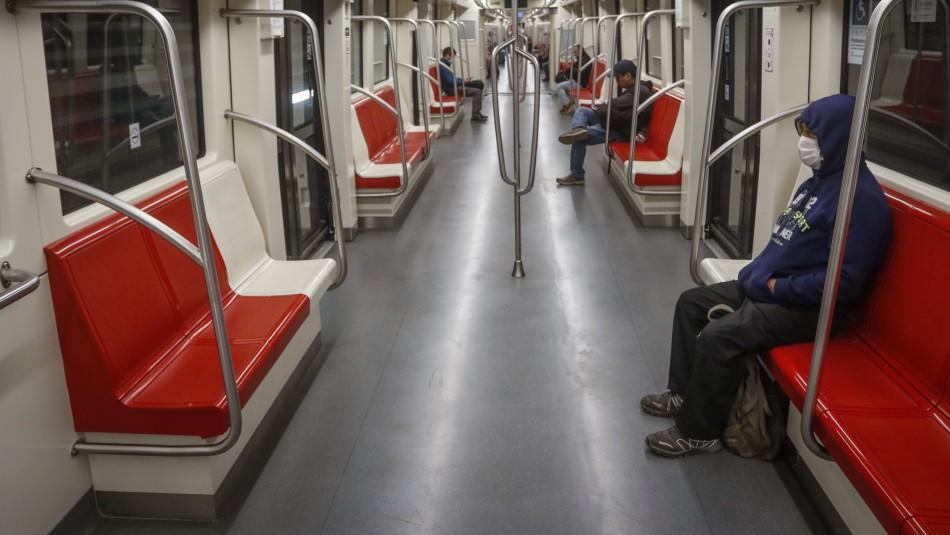 Metro informa que estación Parque Almagro estará cerrada entre jueves y domingo
