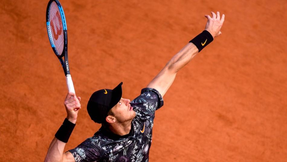 Nicolás Jarry sufre sanción ATP.