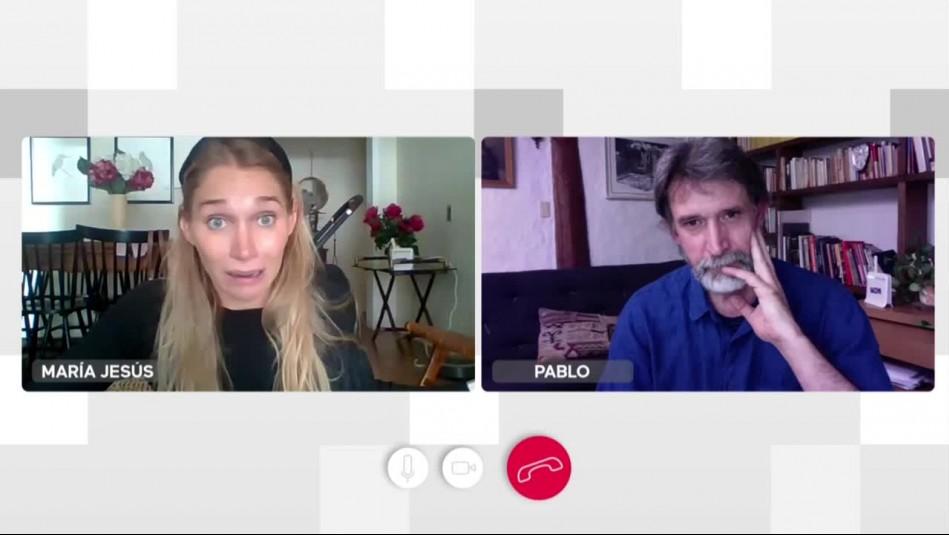 Historias de Cuarentena: Pablo está preocupado por María Jesús