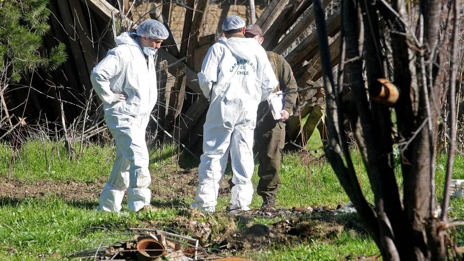 Encuentran mortero tipo rocket en ribera de río Cautín en Padre las Casas
