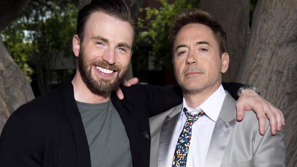 Así despidieron a Robert Downey Jr. y Chris Evans al grabar su última escena en Avengers: Endgame