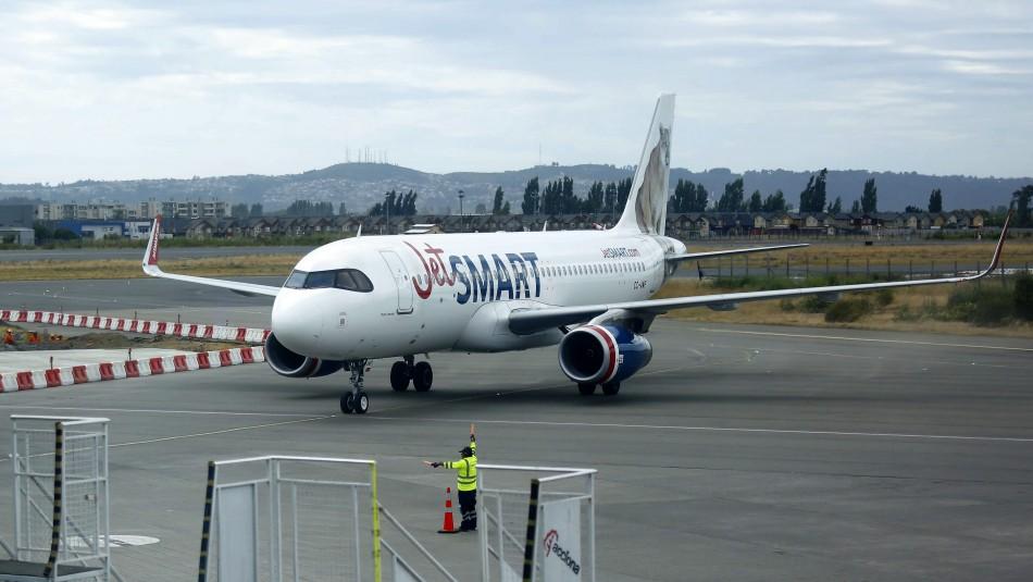 JetSMART reabre 5 nuevas rutas y será la única compañía que vuele a Temuco y La Serena