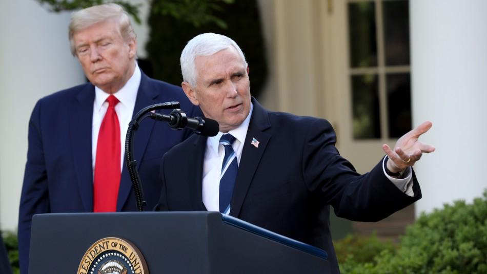 Vicepresidente de Estados Unidos es blanco de críticas tras visitar sin mascarilla la Clínica Mayo