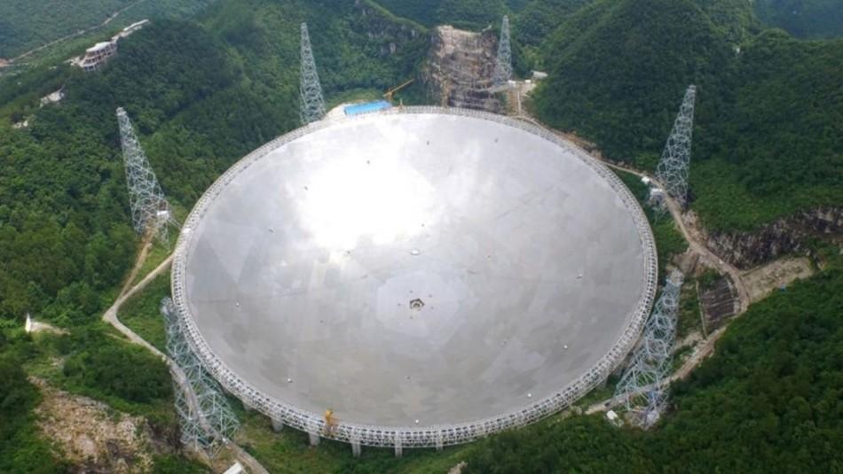 China construye radiotelescopio con una antena de 70 metros para ponerse en contacto con Marte
