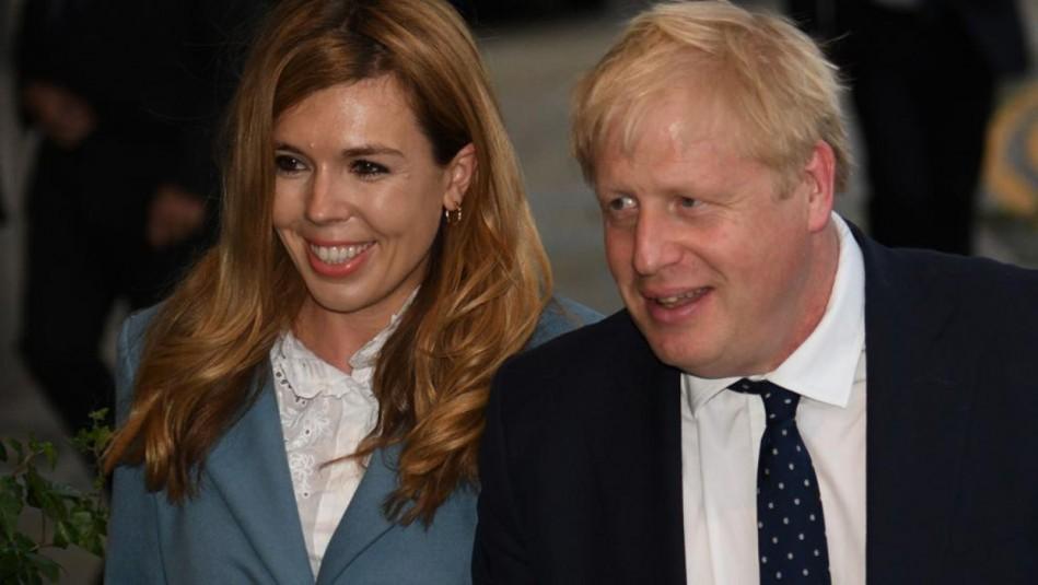 Reino Unido: Boris Johnson y su prometida Carrie Symonds anuncian el nacimiento de su hijo