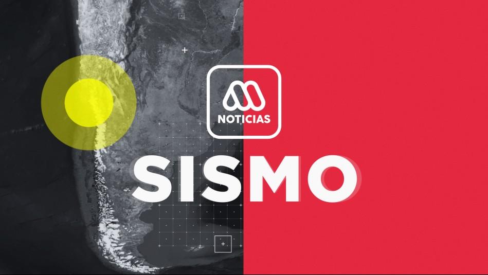 SHOA descarta tsunami en Chile tras temblor en la Región de Antofagasta