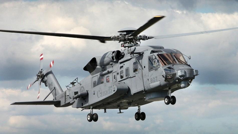 Encuentran en el mar Jónico los restos del helicóptero desaparecido de la OTAN