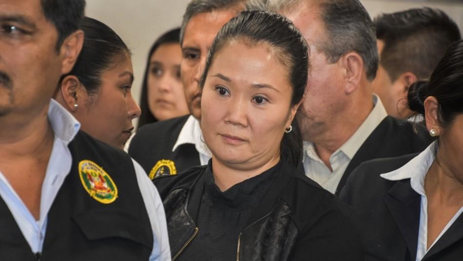 Caso Odebrecht: Tribunal peruano concede libertad a Keiko Fujimori