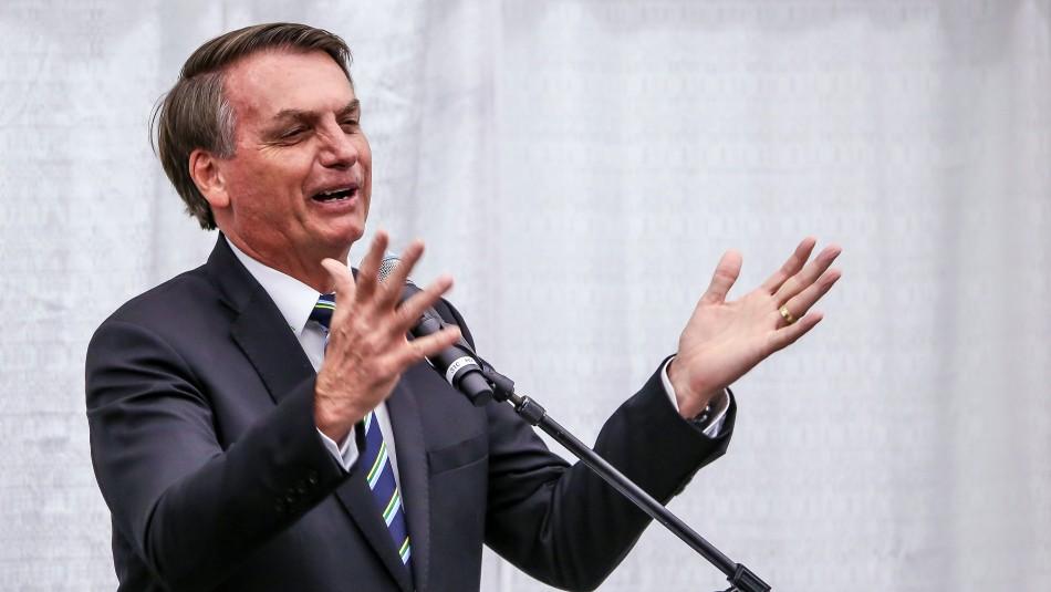 Bolsonaro asegura que la OMS alienta la homosexualidad y la masturbación en niños