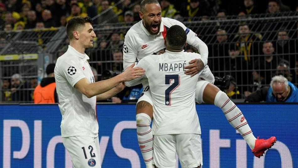 PSG nuevo campeón en Francia.