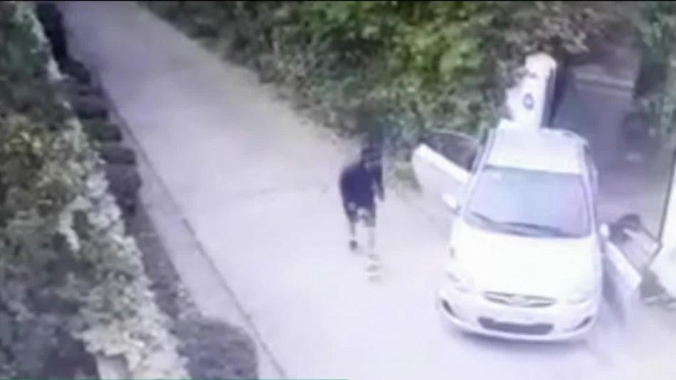 Conductor se resistió a robo de su vehículo y atropelló a delincuente:
