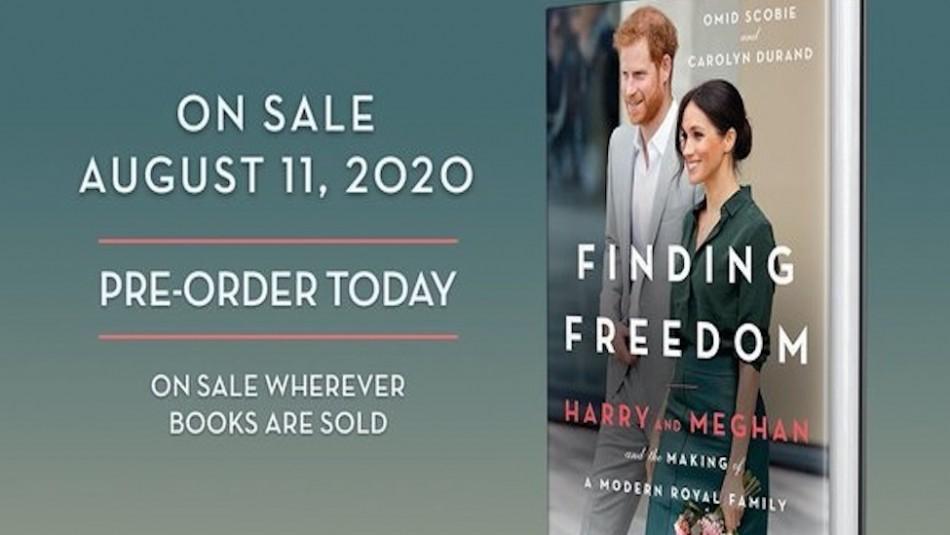 Nuevo libro sobre la salida de Harry y Meghan de la realeza se convierte en un éxito y solo es la preventa