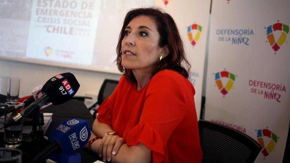 Defensora de la Niñez: Sin un cambio estructural, podrán seguir pasando directores del Sename