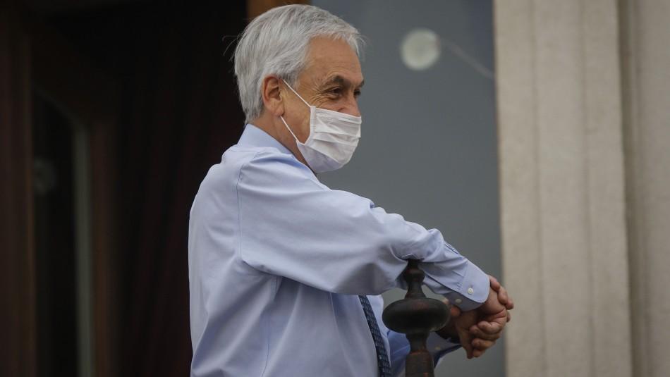 Cadem: Presidente Piñera mantiene el porcentaje de aprobación más alto desde la crisis social