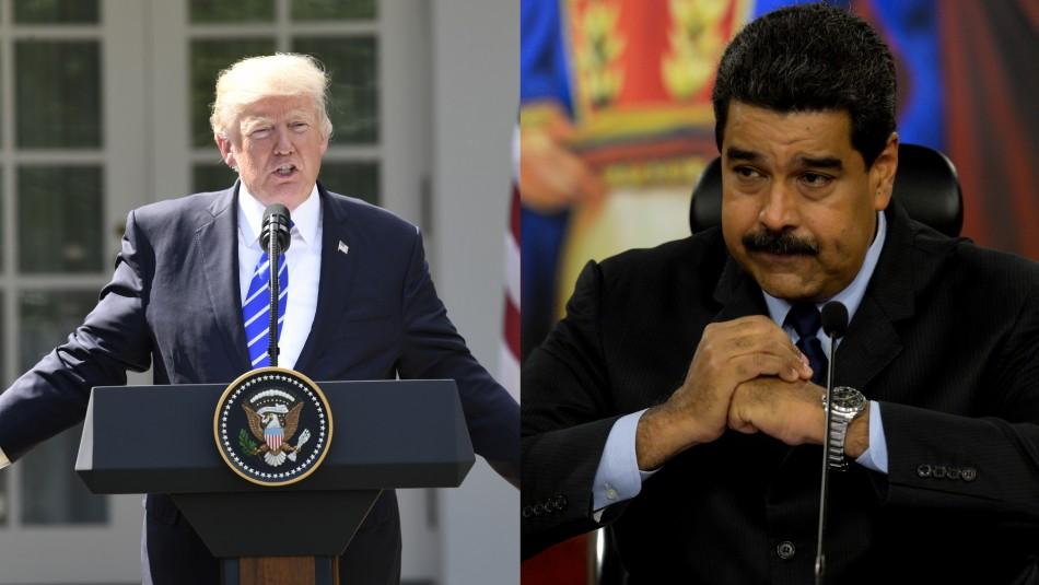 Trump avisa a Maduro: