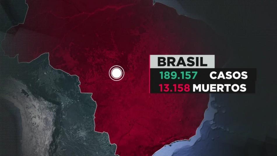 Coronavirus en Brasil: El país supera los 13 mil fallecidos por el virus