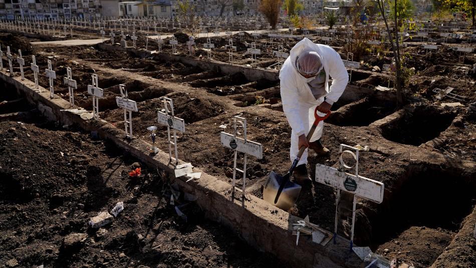 Cementerio General confirma cerca de mil tumbas nuevas por coronavirus: