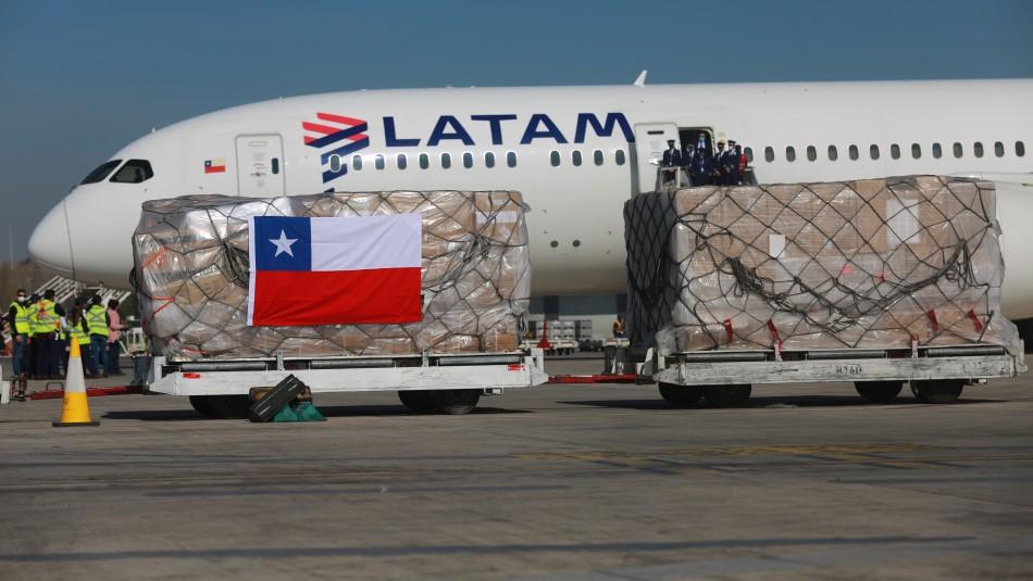 Llegan a Chile 60 ventiladores mecánicos y miles de insumos médicos donados desde China