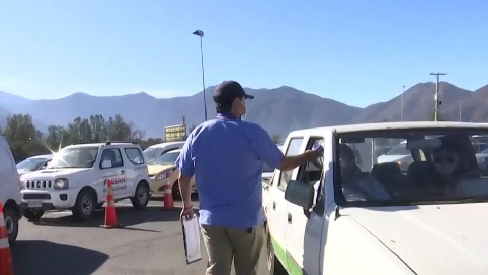 Gran congestión se registra en la Ruta 68 rumbo a Valparaíso a horas del inicio de la cuarentena