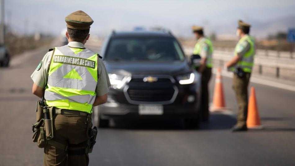 Cuarentena en Gran Santiago: Se han realizado más de 1 millón 300 mil fiscalizaciones