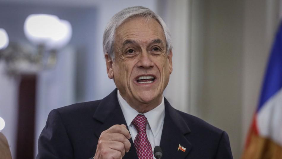 Nuevas medidas ante la pandemia: Piñera anuncia entrega de 2.5 millones de canastas de alimentos