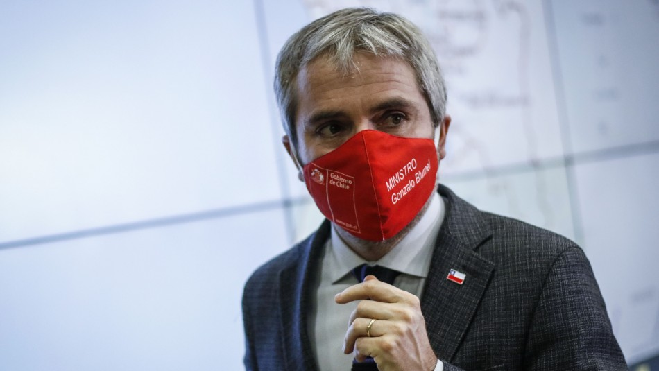 Ministro Gonzalo Blumel en cuarentena preventiva: