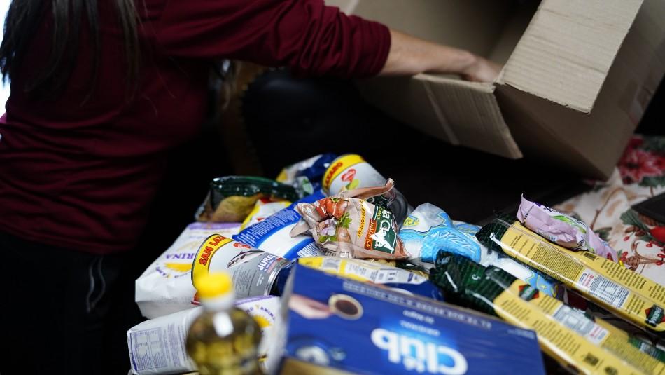 Canastas de alimentos: Conoce las comunas donde se repartirán durante este fin de semana