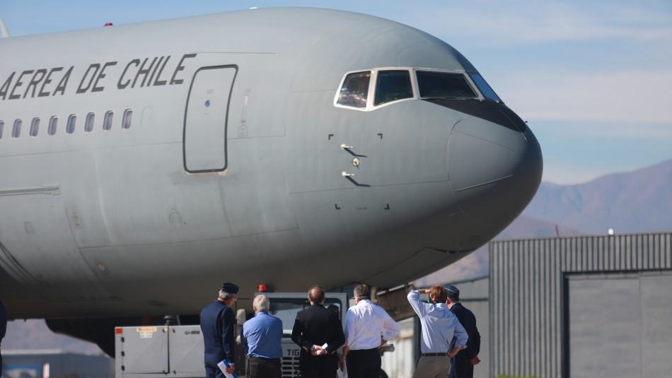 Avión FACh llega desde China con 15 toneladas de insumos médicos y ventiladores mecánicos
