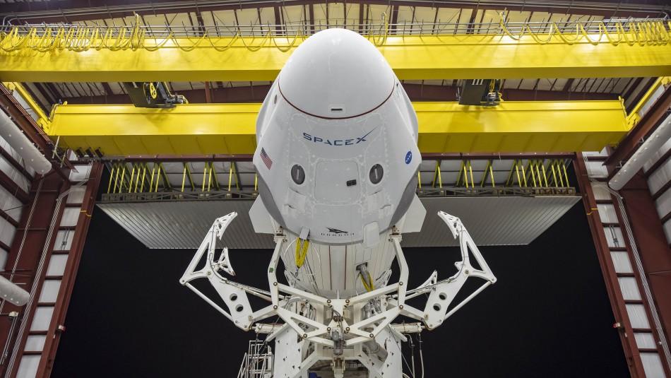 SpaceX está lista para enviar a dos astronautas de la NASA al espacio