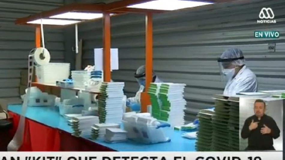 Chilenos crean kit para detectar el coronavirus