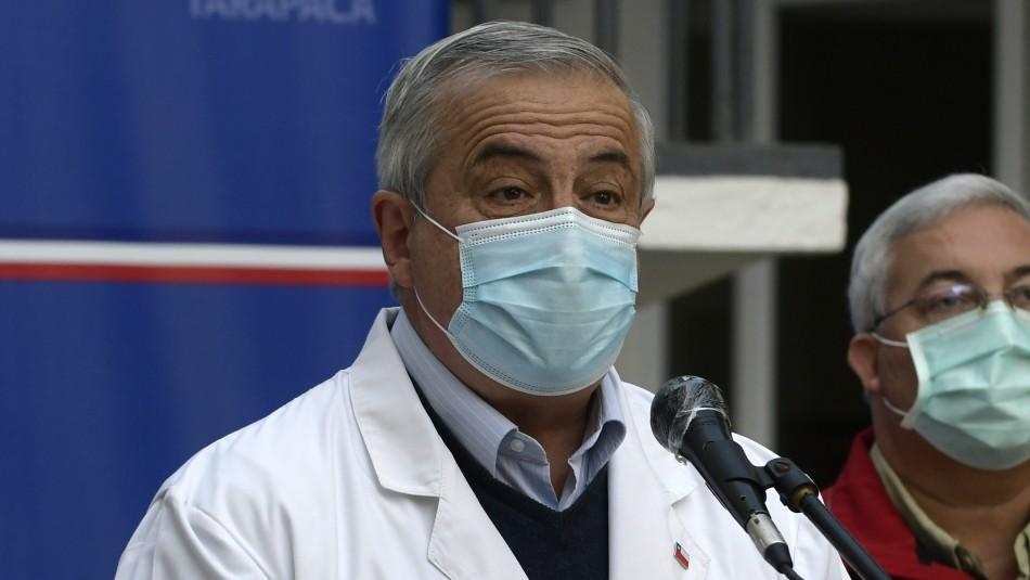 Mañalich ante posible colapso del sistema de salud:
