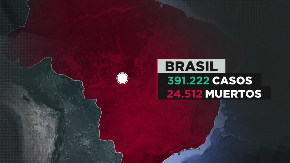 Coronavirus en Brasil: Supera la cifra diaria de fallecidos de Estados Unidos