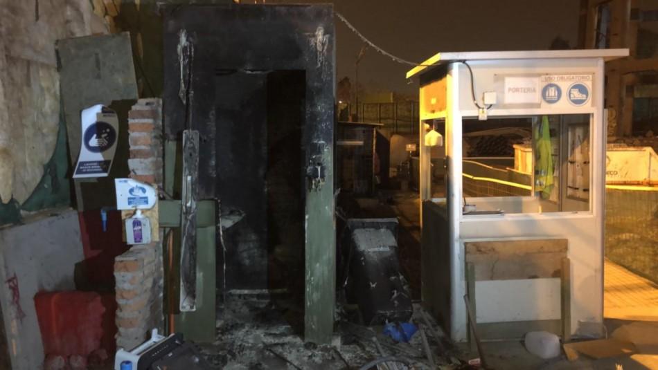 Incidentes en El Bosque: Barricadas y destrozos en extensión de la Línea 2 del Metro